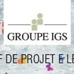 GROUPE IGS recherche un chef de projet e-learning H/F