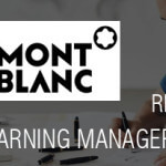 Mont Blanc recherche un Digital Learning Manager à Hambourg